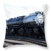 Big Boy - Union Pacific Railroad Throw Pillow