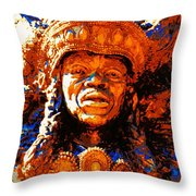 Big Chief Tootie Throw Pillow
