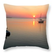 Big Chill Sunset Throw Pillow