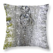 Big Chill Water Angel Throw Pillow