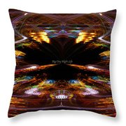 Big City Night Life Throw Pillow