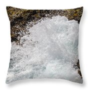 Big Crash Throw Pillow