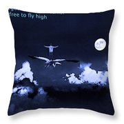 Big Dreams Throw Pillow by Manjot Singh Sachdeva