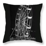 Big Eli Ferris Wheel 2 Throw Pillow