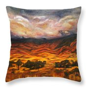 Big Gountry - Mac Donnell Ranges Australia Throw Pillow