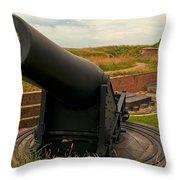 Big Gun Throw Pillow
