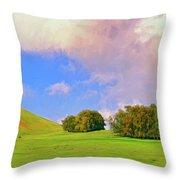 Big Island Ranch Throw Pillow