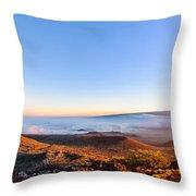 Big Island Sunset 2 Throw Pillow