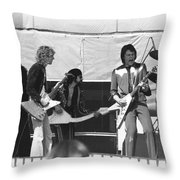 Big Jam At Day On The Green 1976 Throw Pillow