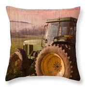 Big John Throw Pillow by Debra and Dave Vanderlaan