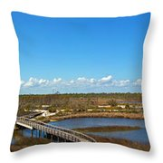 Big Lagoon 2 Throw Pillow