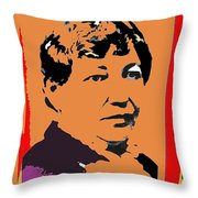 Big Nose Kate Unknown Location Or Date-2012 Throw Pillow