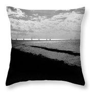 Big O Port Throw Pillow