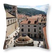 Big Onofrio's Fountain Throw Pillow