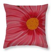Big Pink Flower - Florist - Gardener Throw Pillow