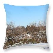 Big Prairie Ohio Throw Pillow