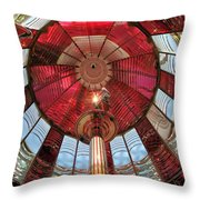 Big Red Fresnel Throw Pillow