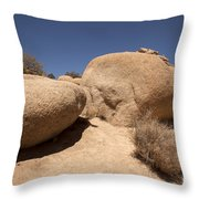 Big Rock Throw Pillow