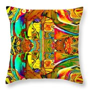 Big Rock Candy Mountain Throw Pillow