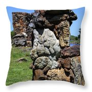 Big Rock Throw Pillow