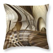 Big Sticks Throw Pillow