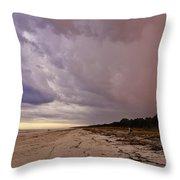 Big Storm Coming Throw Pillow
