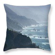Big Sur 2 Throw Pillow