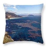 Big Sur Beauty Throw Pillow