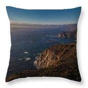 Big Sur Headlands Throw Pillow