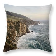 Big Sur Throw Pillow by Heather Applegate
