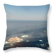 Big Sur Panorama Throw Pillow