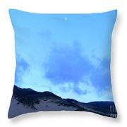 Big Sur Sky Throw Pillow