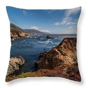 Big Sur Vista Throw Pillow