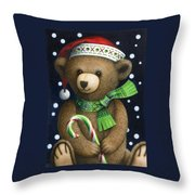 Big Teddy Throw Pillow