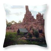 Big Thunder Mountain Throw Pillow