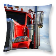 Big Trucks Throw Pillow