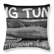 Big Tuna Throw Pillow