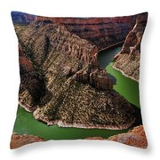 Bighorn Canyon Throw Pillow