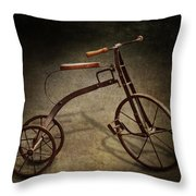 Bike - The Tricycle  Throw Pillow