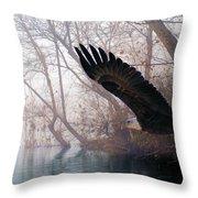 Bilbow's Eagle Throw Pillow