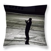 Bill Bader Jr  Throw Pillow