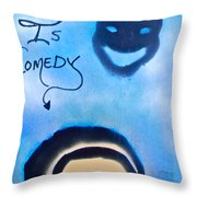 Bill Cosby Throw Pillow