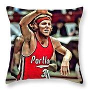 Bill Walton Throw Pillow