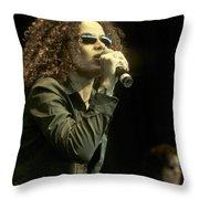 Billie Myers Throw Pillow