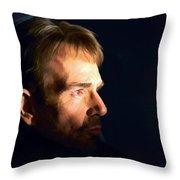 Billy Bob Thornton @ Fargo Tv Series Throw Pillow