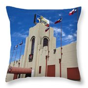 Billy Bobs County Music Hall Fort Worth Texas Throw Pillow