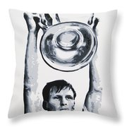 Billy Mcneill - Glasgow Celtic Fc Throw Pillow
