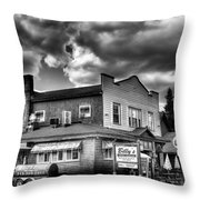 Billy's Restaurant And Walt's Diner - Old Forge New York Throw Pillow