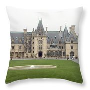 Biltmore Estate Asheville Throw Pillow