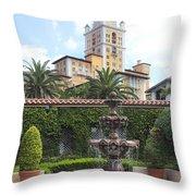 Biltmore Hotel 02 Throw Pillow